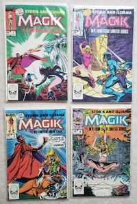 Magik complete comic miniseries #1-4 Mount Airy