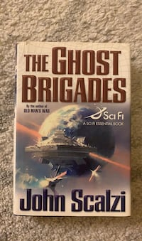 Like New Hardcover The Ghost Brigades book by John Scalzi Arlington, 22203