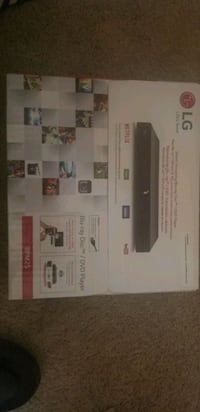 LG Blu Ray DVD Player. Houston, 77064