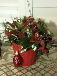 red and green artificial flowers Hamilton