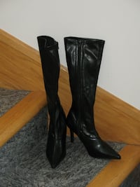 Brand New! TAXI Black High Heel Boots