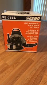 Echo gas powered backpack blower new in  box Brookhaven, 11953