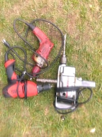 red and black corded power tool Great Falls, 59405