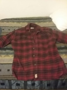 Red And Black Plaid Print Dress Shirt In Colorado Springs