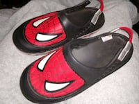 New Spiderman 3 youth clog shoes boys Manchester, 03103
