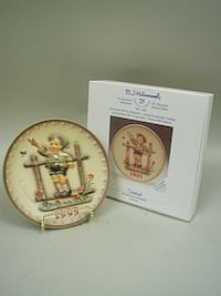 "Hummel 1995 Annual Plate MIB ""Come Back Soon"" Lancaster"