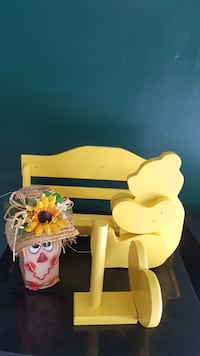 Wooden (Paintable) Set of Room Decor Items