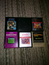 6 Atari games Rock Hill