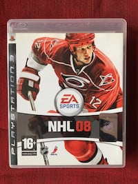 NHL 08 PS3 BUZ HOKEYİ