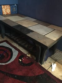 Living room table also comes a smaller table for a lamp is 10 more for that one and the wall decorator 8 Chambersburg