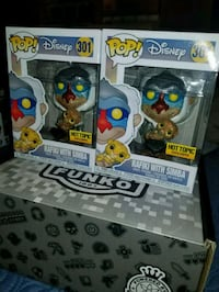 Rafiki with Simba exclusive funko pops  Toronto, M1L 2T3