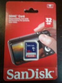 black and red SanDisk Ultra Plus SD card Chicago, 60624