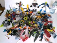Lego Bionicle Loose parts lot of 1.75kg or 4 Lbs Whitchurch-Stouffville, L4A 0J5