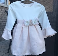 Blink Blank peachy dress 12M Vaughan, L6A 0P1