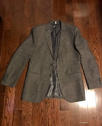 (WORN ONCE) Le Chateau Men's Linen Blazer Size 36