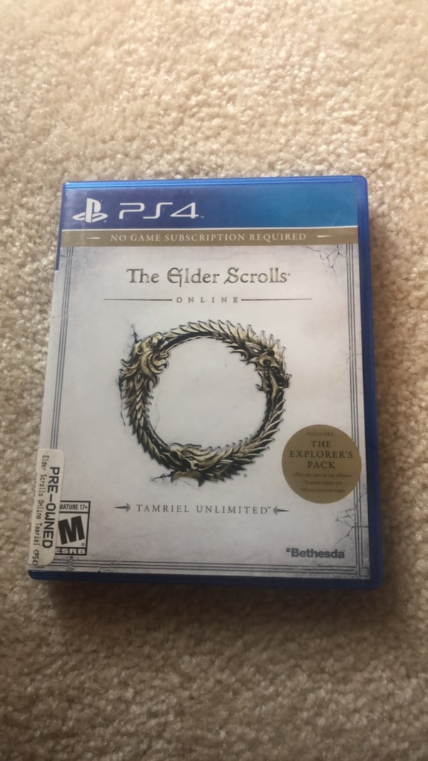 The Elder Scrolls PS4 Game