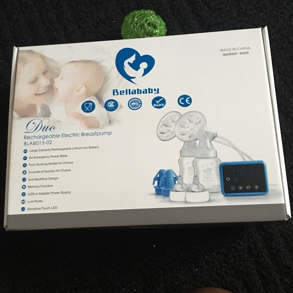 Double electric breast pump that's portable price negotiable 32b01567-6efd-4008-8285-1c305ada2020