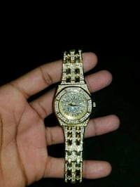 iced out watch  Upper Marlboro, 20772