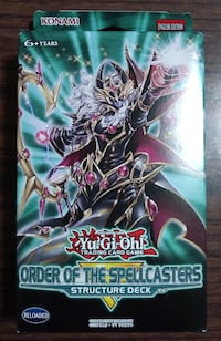 Yu-Gi-Oh Order of the Spellcasters Structure Deck Yugioh