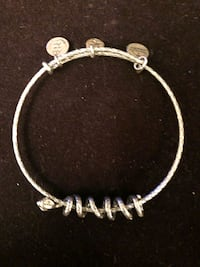 Alex and Ani Snake Coil bracelet.