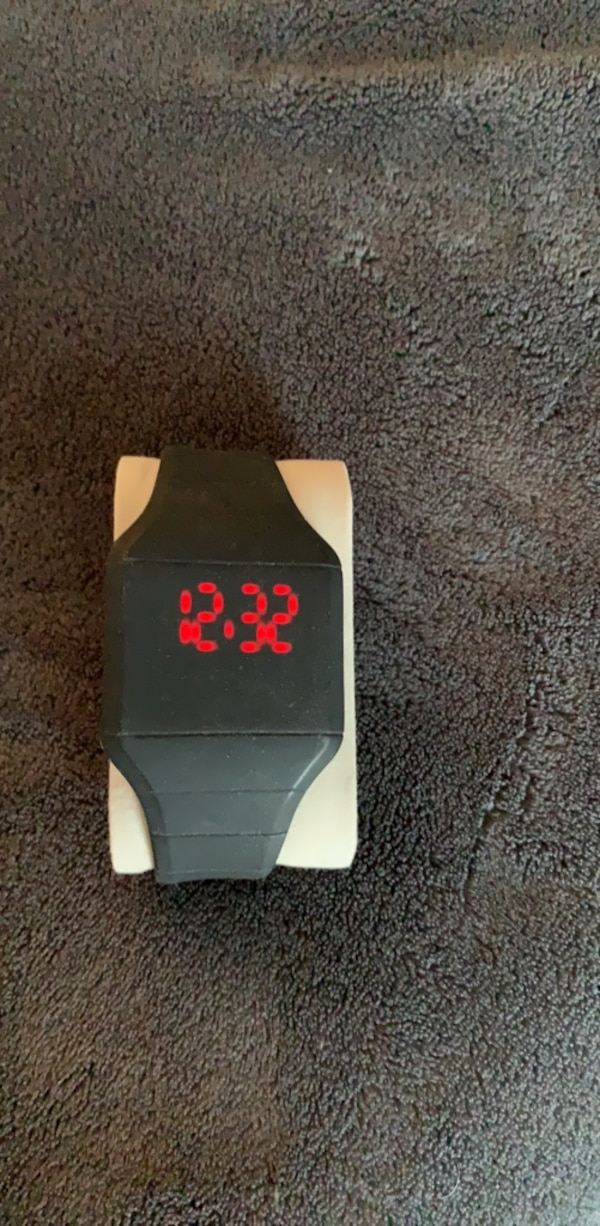 rubber electronic face touch screen Watch 0
