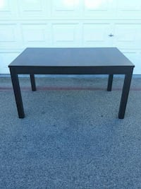 Dark brown dining room table with inserts Las Vegas, 89117