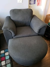 Ikea Tidafors Armchair and Ottoman New Westminster, V3L 1X6