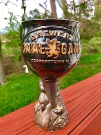 BRAND NEW Handsome Handcrafted Ceramic Stoneware Ommegang Chalice Falls Church, 22046