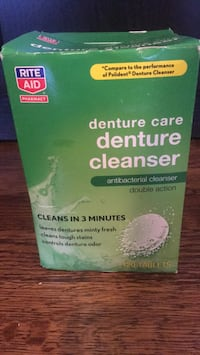 Rite aid brand denture cleaner- 54 tablets remaining