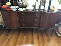 brown wooden dresser with mirror San Leandro, 94578