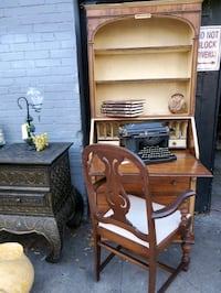 Antique Desk & Chair