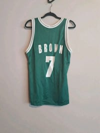 men's teal Brown 7 basketball jersey 1179 km