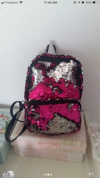 Girls sequin backpack