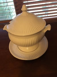 Soup Tureen With Platter