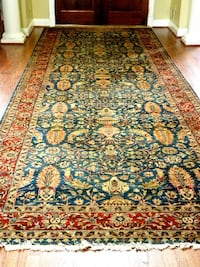 Entrance Foyer Runner Persian Rug Potomac