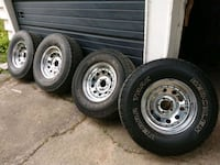 American racing rims and 31 inch tires Richmond Hill, L4C 1W7