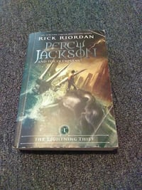 Percy Jackson and the Olympians by Rick Riordan book St. Augustine, 32080