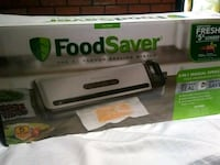 Vacuum food saver brand new with bags and plastic Toronto, M1B 2S9