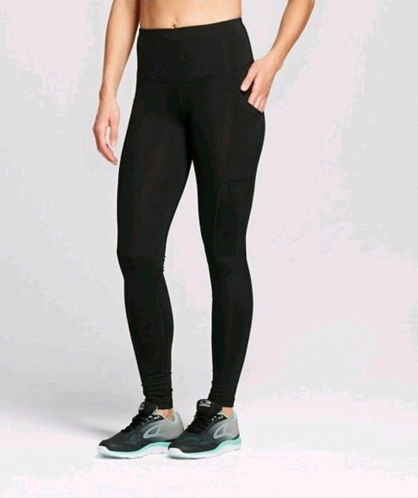 5f412c6a4a69a Used Black Leggings Side Pockets for sale in North York - letgo