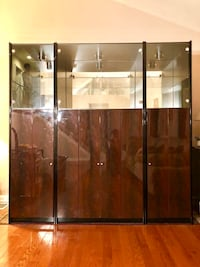 brown wooden cabinet with mirror collage Rockville, 20852