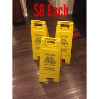 Caution Wet Floor Sign - Two sided Fort Worth, 76133