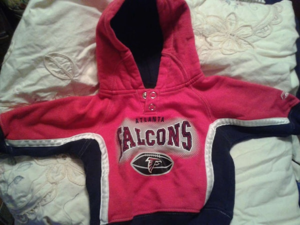 huge discount 11789 625a8 baby's atlanta falcons pullover hoodie