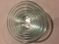 16 Piece Glass Bowls & Lids Set
