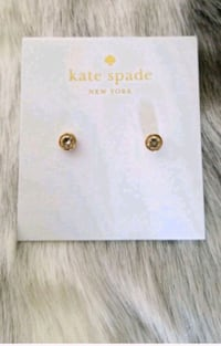 Brand new authentic Kate Spade stud earrings Vancouver, V6G 1S4