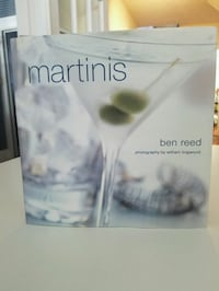 Martini cocktail recipe book by Ben Reed Boston, 02115