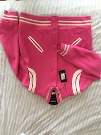Ysl pink teddy jacket authentic with tags and receipt  29 mi