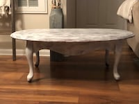 Shabby Chic White Chalk Paint Coffee Table Ashburn, 20147