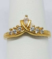 Gold ring size 5 stamped nv Ottawa, K2G 1E6