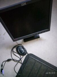 Computer monitor.13 inch .for 15 with mouse  Burlington
