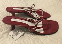 Brand New with tags Red pumps size 6 1/2  Surrey, V3R 1T4